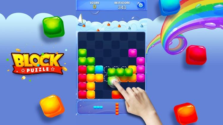 Candy Block Puzzle Blitz screenshot-6