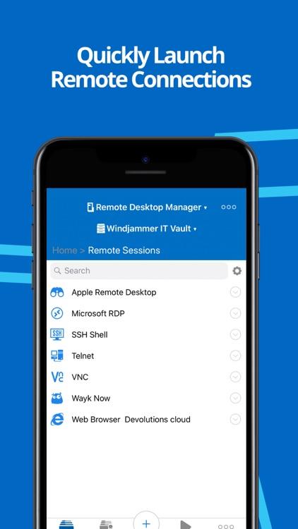 Remote Desktop Manager screenshot-3