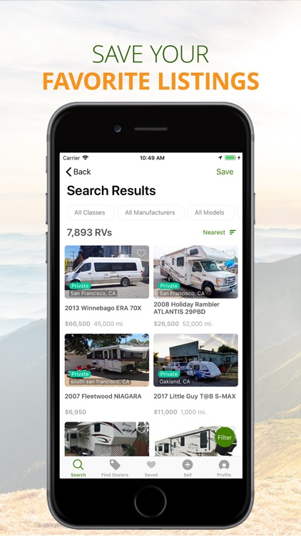 RV Trader: Shop RVs