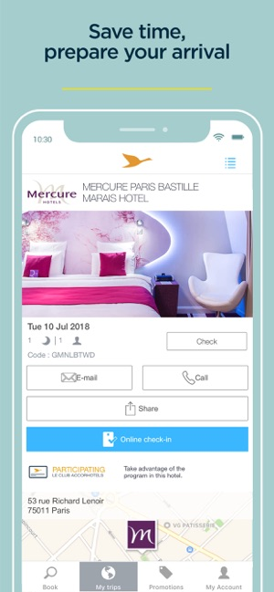 AccorHotels - Hotel booking on the App Store