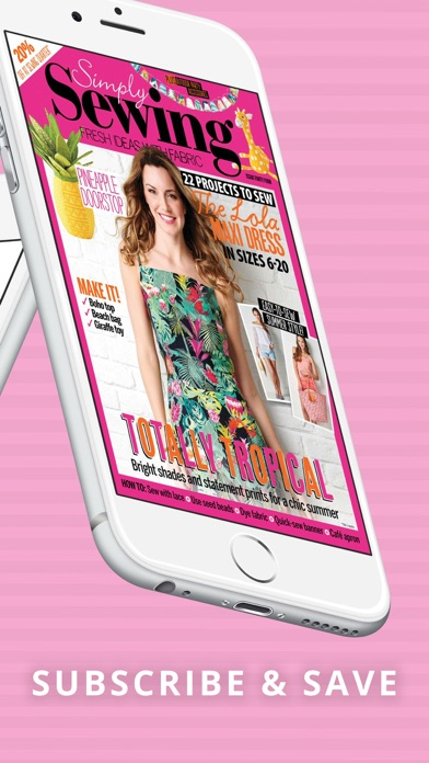 Simply Sewing Magazine Screenshot