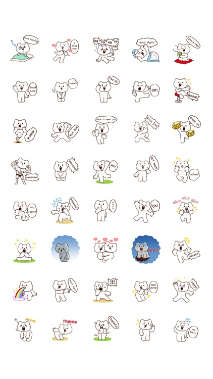 Everyday use Betakkuma sticker