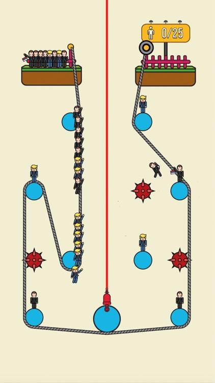 Rope Rescue! - Unique Puzzle screenshot-3