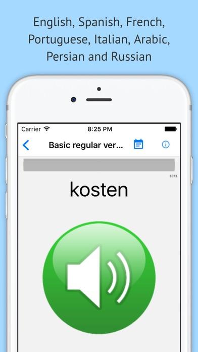 Verben - Trainer screenshot three