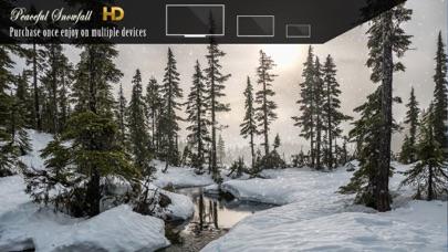 Peaceful Snowfall HDのおすすめ画像2