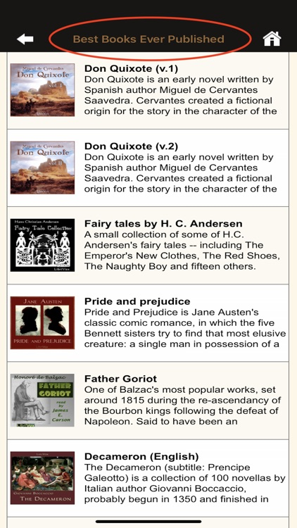 Gutenberg Book Reader screenshot-0
