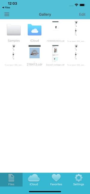 VectorView - Corel organizer on the App Store