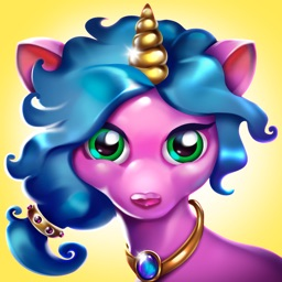 Unicorn kids games for girls