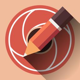 Ícone do app Sketch Me! Sketch&Cartoon
