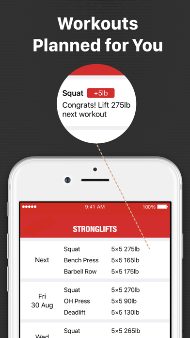 StrongLifts 5x5 Weight Lifting