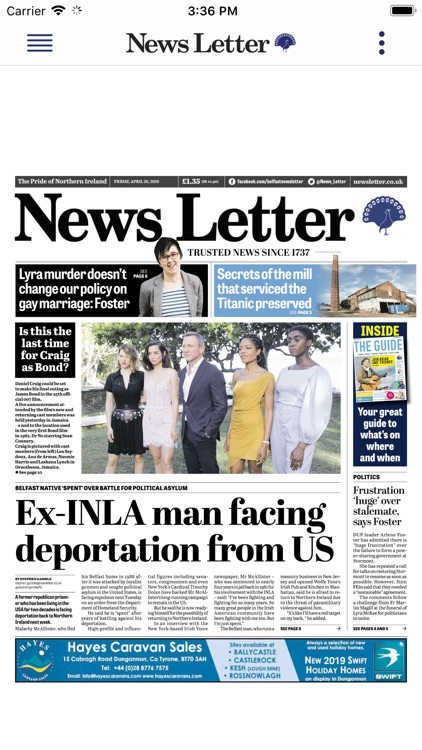 The News Letter Newspaper