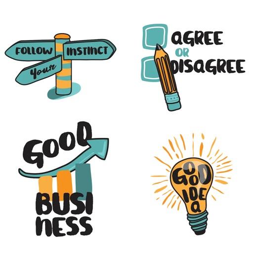 Business Man Emoji Stickers
