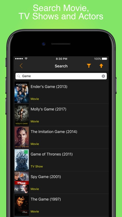 My Movies & TV Shows Watchlist screenshot-8