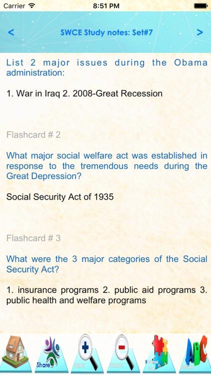 Social Work Clinical Exam Q&A screenshot-3