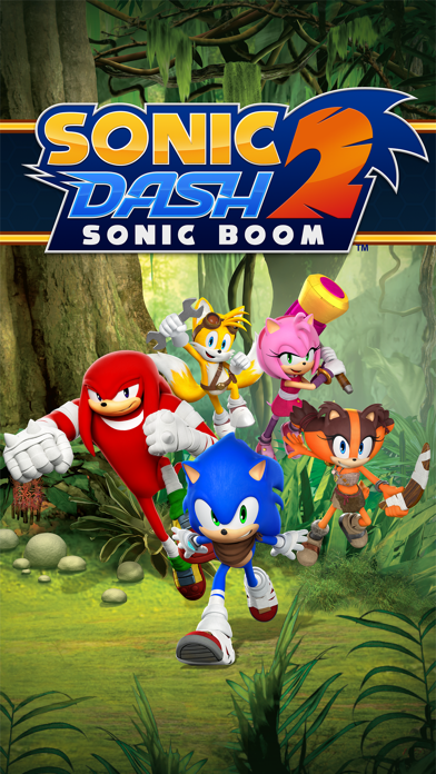 Screenshot of Sonic Dash 2: Sonic Boom1
