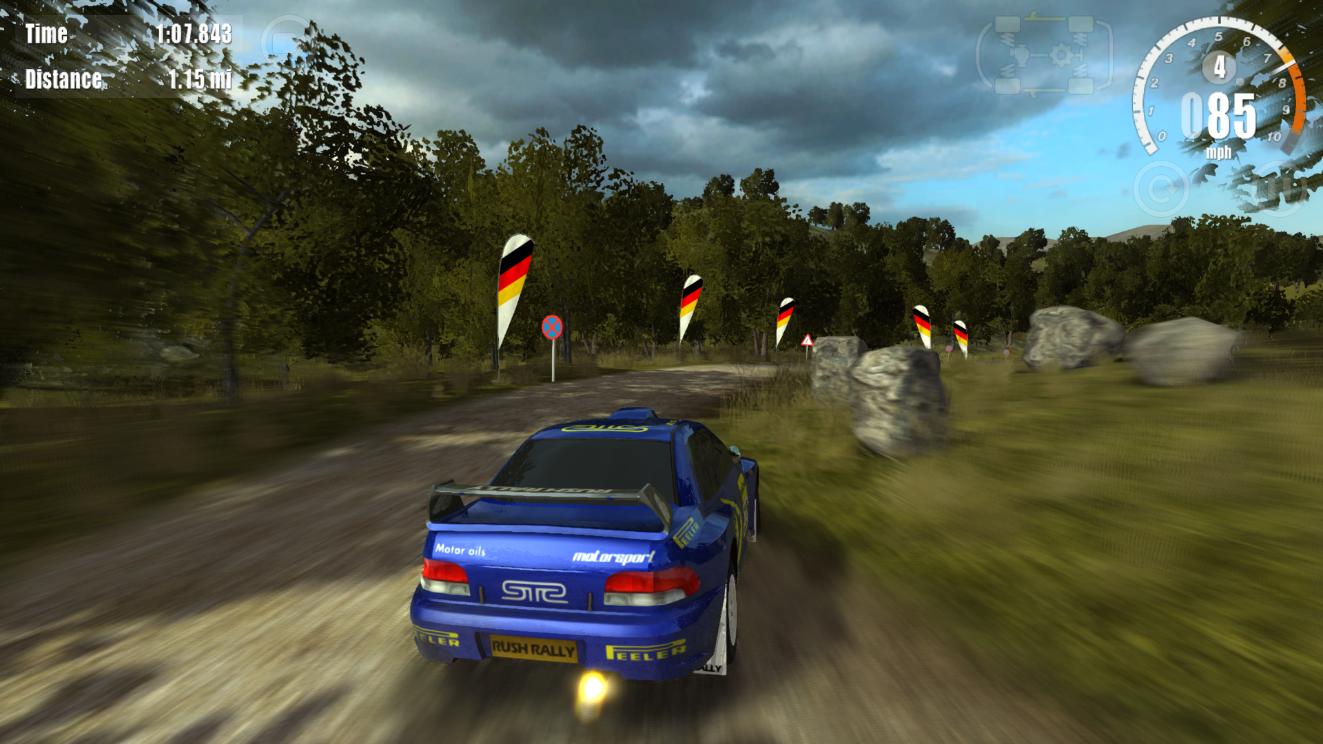 Rush Rally 3 screenshot 23
