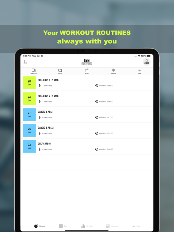 Gym Life - Workout Scheduleのおすすめ画像1