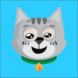 Face cat funny emoji 2019