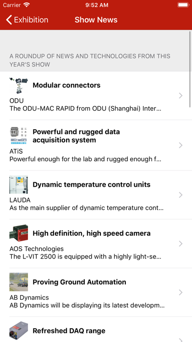 Automotive Testing EXPO China screenshot four