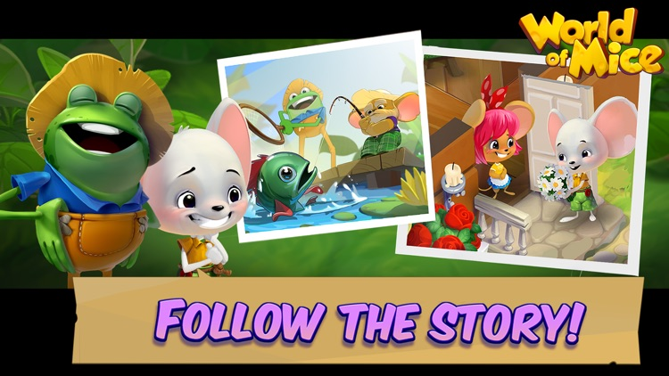 Mouse House: Puzzle Story screenshot-4