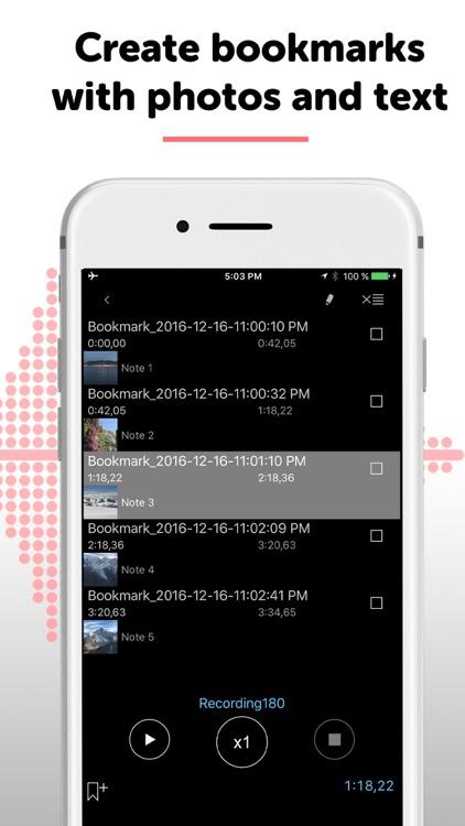 Alon Dictaphone-Voice Recorder screenshot-5