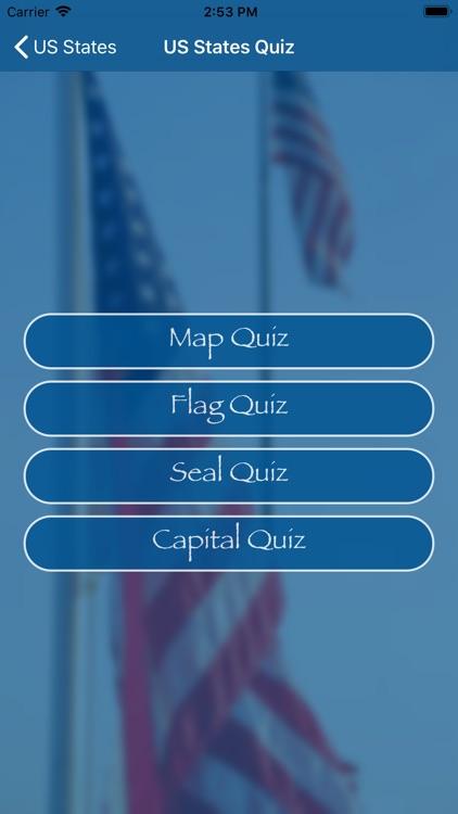 US States Flags Seals Quiz screenshot-3