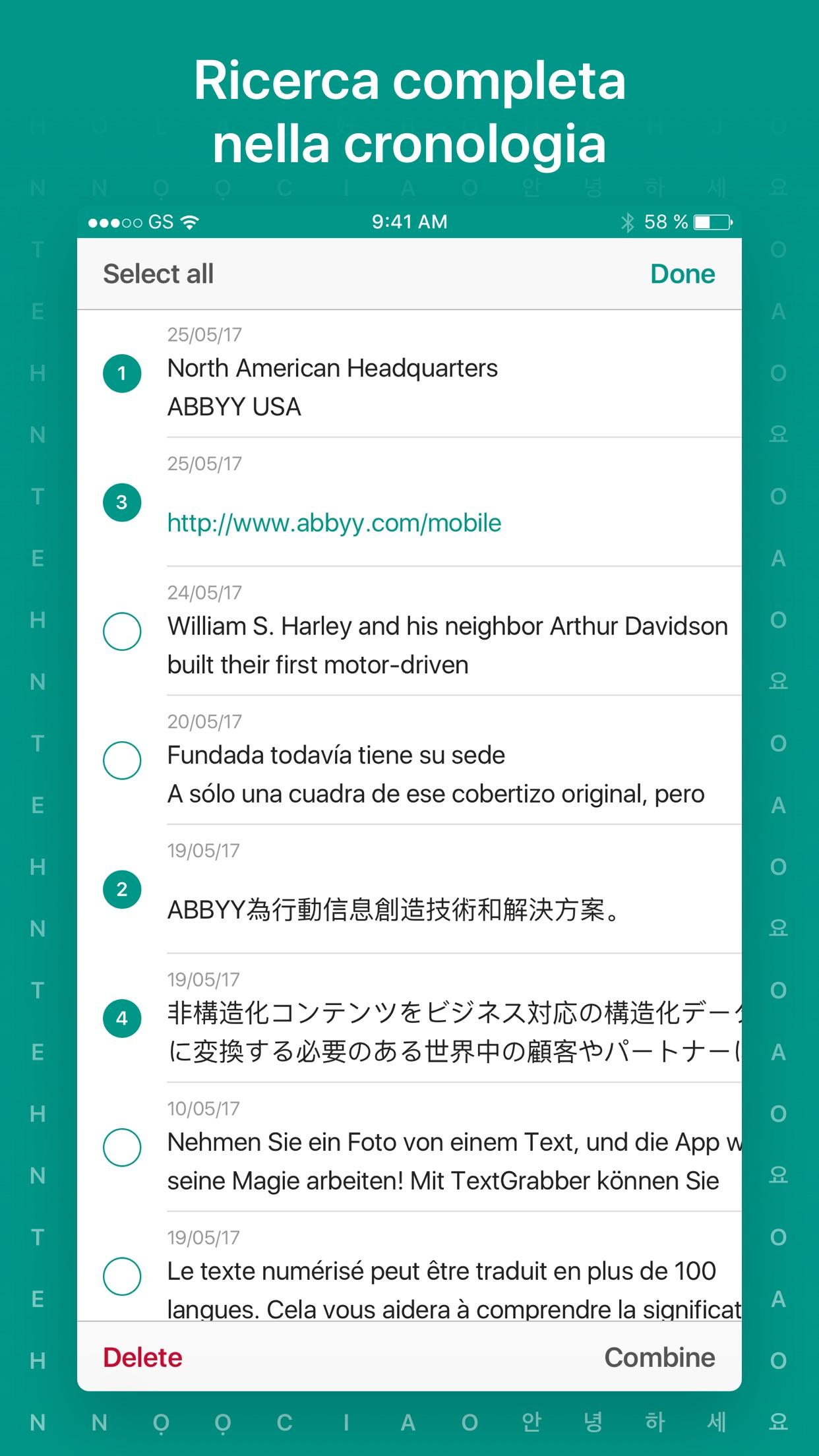Screenshot do app Tradutor por Foto