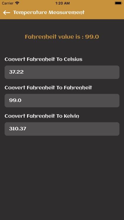 Temperature Measurement screenshot-4