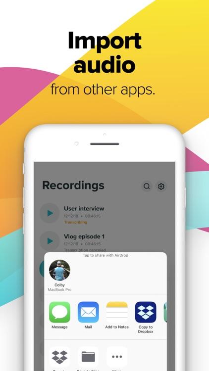 Temi - Recorder & Transcriber screenshot-4