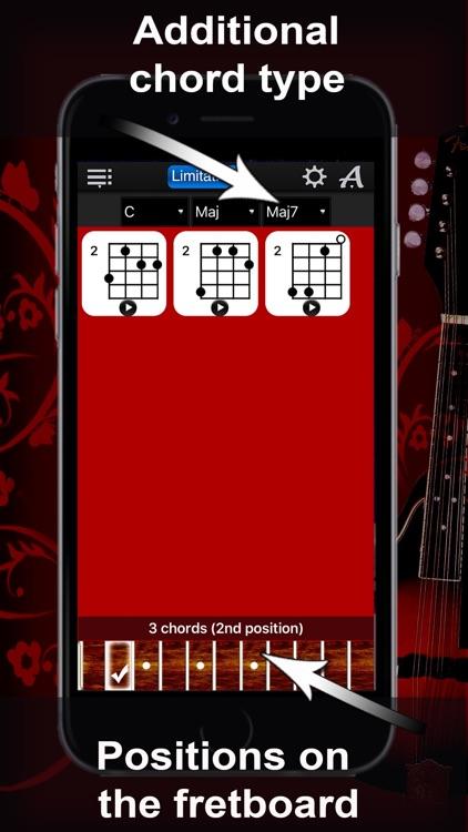 Mandolin Chords Compass Lite screenshot-3