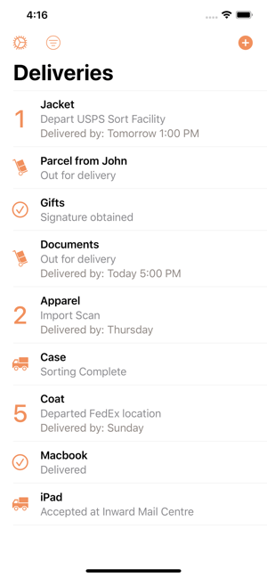 Parcel - Delivery Tracking on the App Store