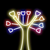荧光涂鸦树-手绘魔法画板,绘画世界乐园,梦幻涂色画画软件