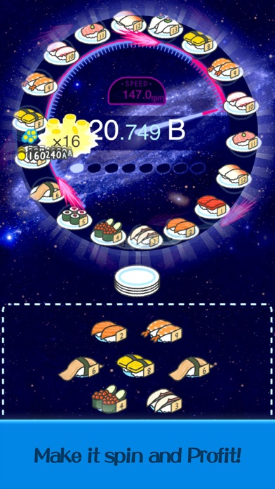 Merge Sushi - Best Idle Game screenshot 3