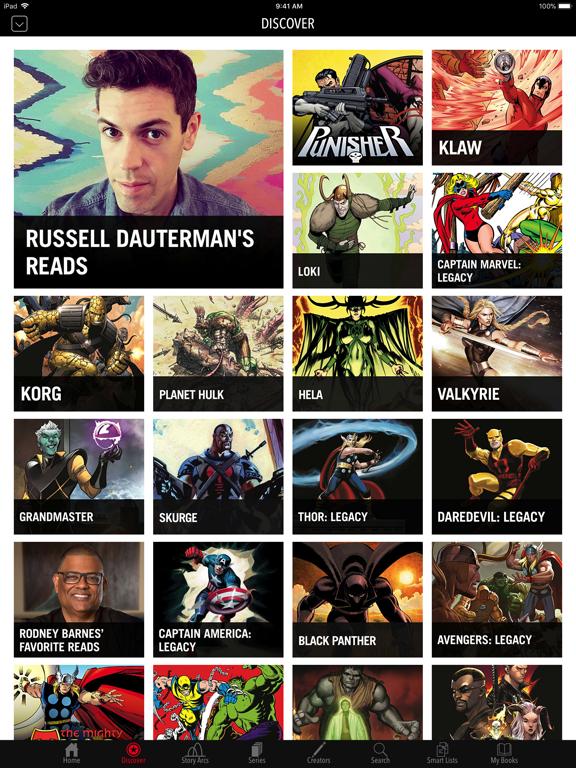 Marvel Comics screenshot