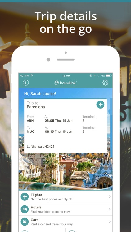 Travellink- Flights, Hotels