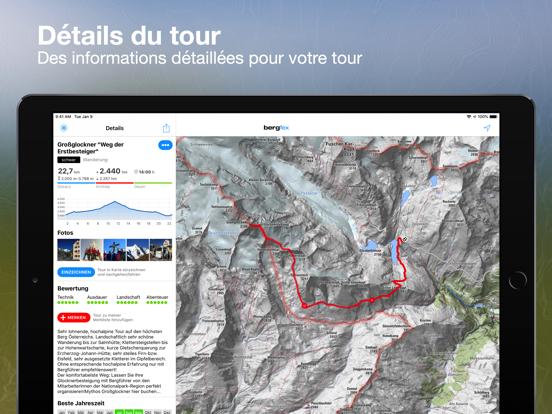 Screenshot #5 pour Tours Bergfex et suivi GPS