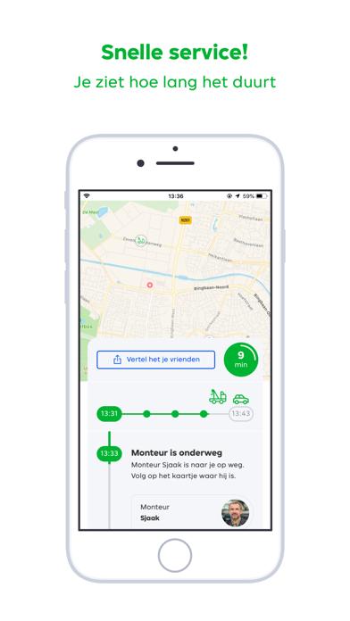 Pechhulp - RoadGuard iPhone app afbeelding 3