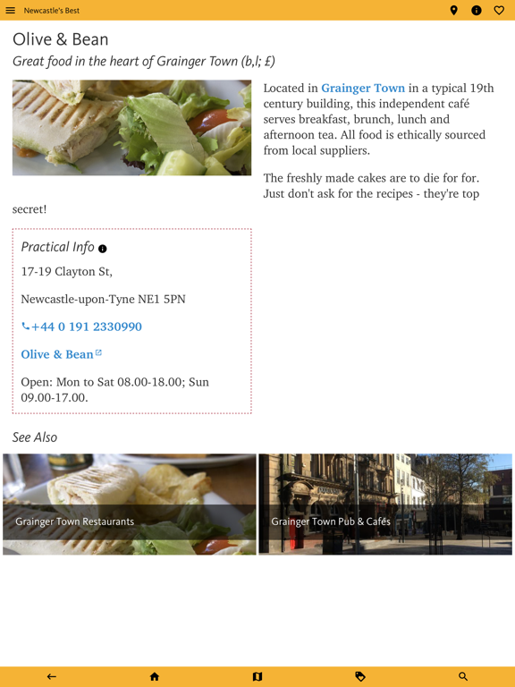 Newcastle's Best: Travel Guide screenshot 20