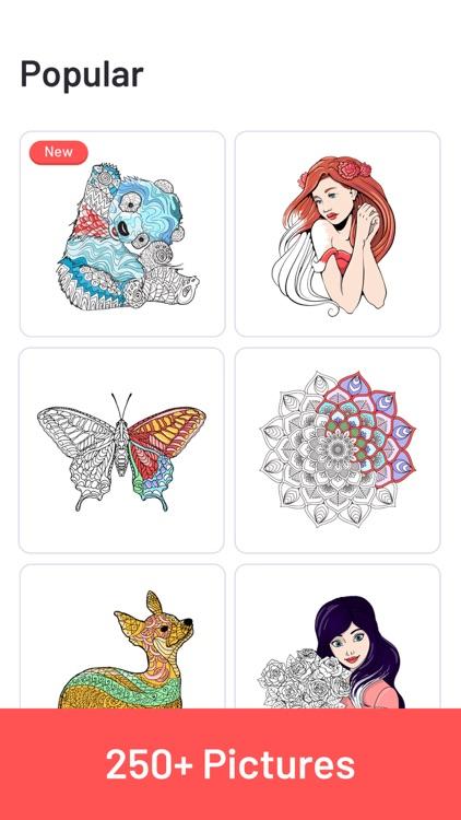 ColorMe - Adults Coloring Book screenshot-6