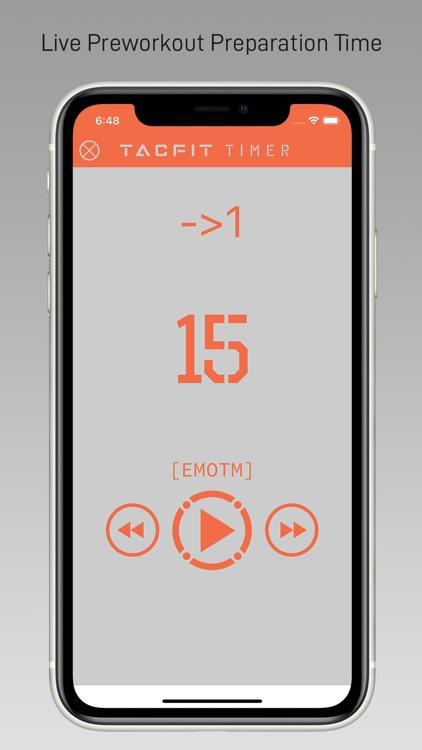 Tacfit Timer screenshot-5