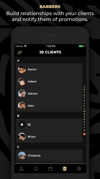 theCut: #1 Barber Booking App screenshot-5