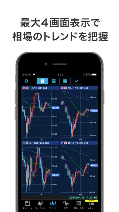 iSPEED FX - 楽天証券のFXアプリ ScreenShot1