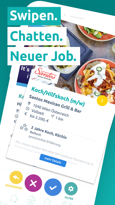 Screenshot for hokify Job App - Jobs finden in Austria App Store