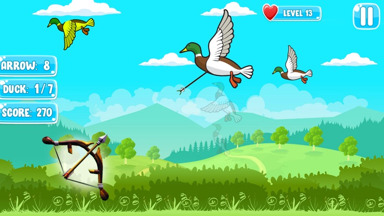 Big Archery Duck Hunting Game