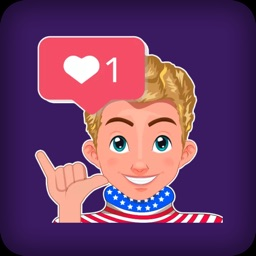 USA Boy Sticker