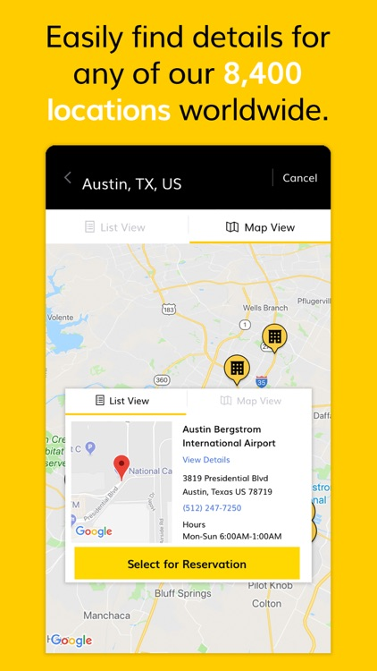 Hertz Car Rental screenshot-4