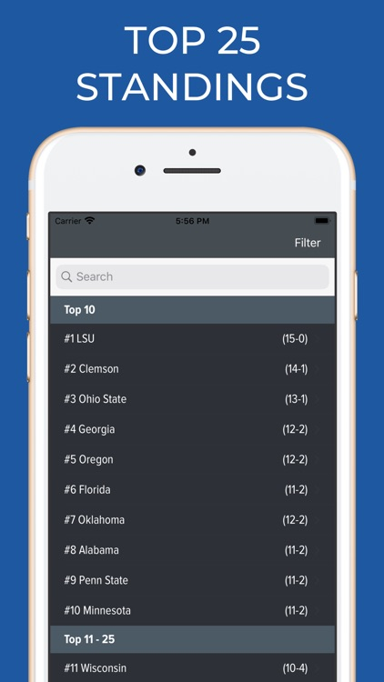 Florida Football Schedules screenshot-5