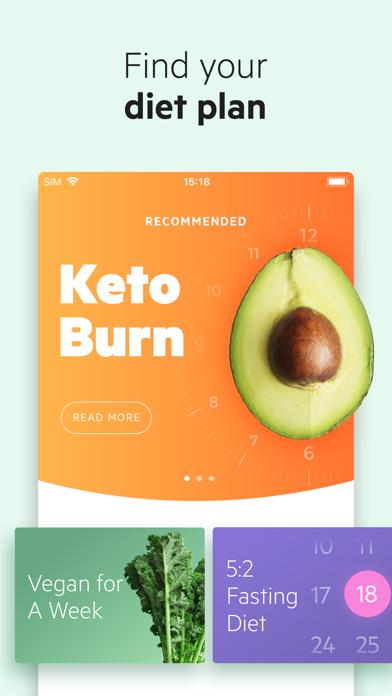 Lifesum: Food Diary & Recipes screenshot one