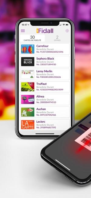 Carte Sephora Black Perdue.Fidall Cartes De Fidelite In De App Store