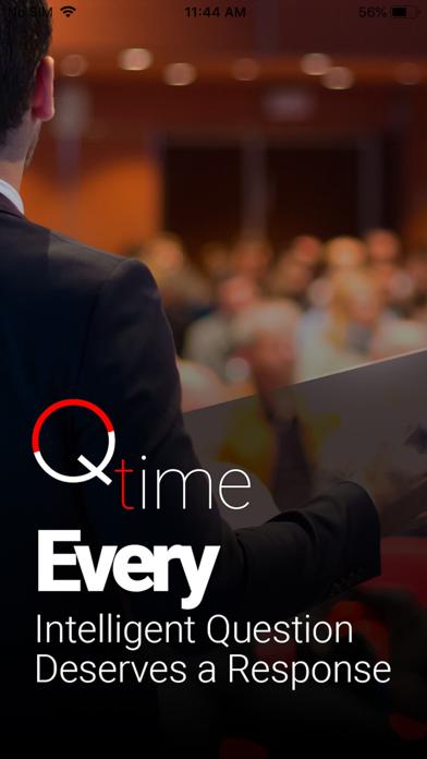Qtime - question time screenshot one